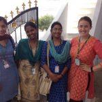 TCi intern Katy Merkel with fellow TCI interns