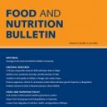 food and nutrition bulletin cover art