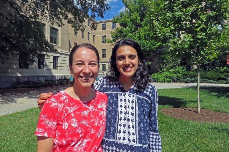 Francesca DiGiorgio and Bhavna Sivasubramanian